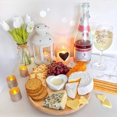 Wine and cheese even
