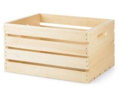 craft store crate to shelf