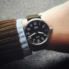 Back to the Oris Big Crown Pro Pilot by wornandwound from Instagram http://ift.tt/1CdFRu6