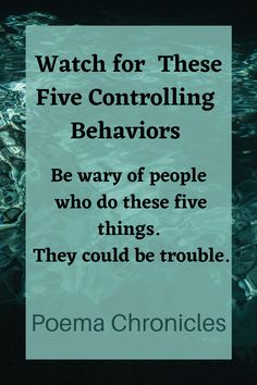 Learning to recognize these behaviors can save you a lot of trouble in the long run. #Controlling #abusive #unsafe #relationships #healthyrelationship #controllingbehavior #manipulative #manipulation #love #control #freedom #marriage #friendship #parenting Christian Wife, Christian Marriage, Christian Parenting, Christian Living, Proverbs 31 Woman, Christian Inspiration, Toxic Relationships, Relationship Tips, Book Recommendations