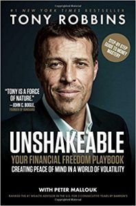 Unshakeable: Your Financial Freedom Playbook: Tony Robbins. After interviewing fifty of the world's greatest financial minds and penning the York Times bestseller Money: Master the Game, Tony Robbins returns with a step-by-step playbook, taking yo Robert Kiyosaki, Steve Jobs, Servant Leadership, Leadership Coaching, Leader In Me, New York Times, Tony Robbins Books, New Books, Books To Read