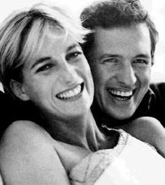 Princess Diana & Mario Testino Two famous very famous people for very different reasons sharing joy & laughter