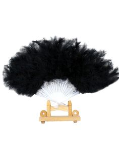 Fluffy Folding Hand Fan – vintage1950s 1920s Flapper Costume, Flapper Headpiece, 1920s Looks, Roaring 20s Party, Fans For Sale, Stunning Dresses, Costume Accessories, Hand Fan, Burlesque