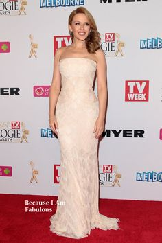 Fabulously Spotted: Kylie Minogue Wearing Roberto Cavalli - 2014 Logie Awards - http://www.becauseiamfabulous.com/2014/04/kylie-minogue-wearing-roberto-cavalli-2014-logie-awards/