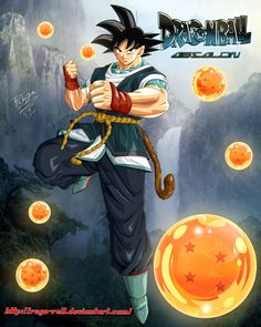 GOKU From DragonBall Absalon by ~ruga-rell on deviantART (http://ruga-rell.deviantart.com/art/GOKU-From-DragonBall-Absalon-319470336)