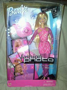 Fashion Photo 2001 Barbie Doll #Mattel #DollswithClothingAccessories
