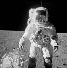 Apollo 12 - Alan Bean and hand tool kit