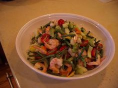 Mystery Lovers' Kitchen: Please Welcome Guest Leslie Budewitz - Shrimp! Salad