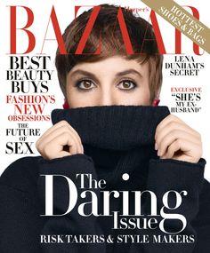 Bazaar US November 2015 - Lena Dunham