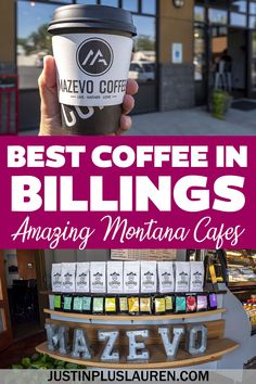 Here are the best coffee shops in Billings, Montana. Billings has so many wonderful cafes with delicious coffee, and here's how you can plan your visit. Cafes in Montana   Cafes in Billings   Billings Coffee Shops   Montana coffee shops   Best coffee in Billings   Best coffee in Montana   Coffee guides USA   USA Coffee shops Best Coffee Shop, Coffee Shops, Black Dog Coffee, City Brew, Coffee Guide, Cozy Cafe, Espresso Drinks, Usa Usa, Plant Based Milk