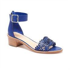 Hopie stacked heel sandal