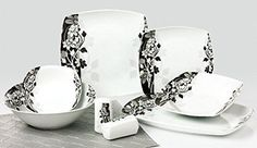 Topkapi Dinner Set for 6 Persons, Alani Dinner Sets, Home Kitchens, Home Accessories, Tea Cups, Arts And Crafts, Plates, Dining, Tableware, Floral Patterns