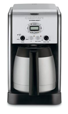 Cuisinart Extreme Brew 10 Cup Thermal Programmable Coffeemaker Certified Refurbished Stainless Steel -- You can find more details by visiting the image link. Drip Coffee Maker, Coffee Cups, Tassimo Coffee, Coffe Bar, Coffee Beans, Charcoal Water Filter, Coffee Accessories, Tonne, Fresh Coffee