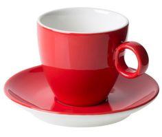 Kop en Schotels Bart Koffie Rood 17 cl