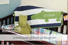 Boy Nursery Ideas! From Counting Blessings Blog :) http://www.countingblessings-blog.com