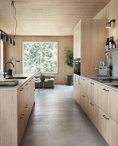 Home Decor Kitchen, New Kitchen, Kitchen Interior, Home Kitchens, Kitchen Design, Ikea Interior, Interior Design, Design Design, Plywood Furniture