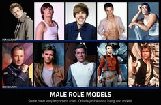 Male Role Models - Geeks do it better. ;)