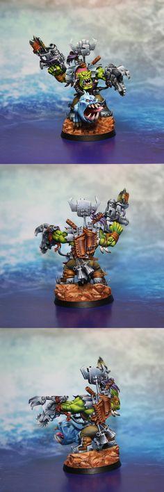 Orc Warboss Grukk Face-Rippa - kacpero