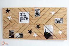 DIY Wooden Memo Board
