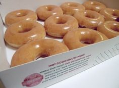 Krispy Kreme Doughnuts. A Southern staple. My grandmother in Florida introduced me to Krispy Kreme 40 years ago.