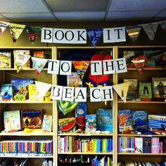 Summer library display