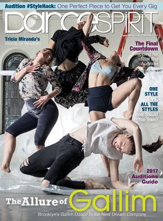 Gallim Dance on our February 2017 cover (photo by Lucas Chilczuk)
