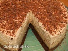 Fotorecept: Jadran torta -  Oddelíme si bielka od žĺtkov.  Z bielkov vyšľaháme tuhý sneh, do ktorého opatrne primiešame 30 g práškového...