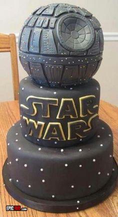 Star wars death star cake <3