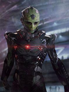 Future, Futuristic, Sci-FI, The (Fake) Mass Effect Characters Of The Future Are An Amazing Sight