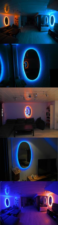 Check out these outstanding Portal mirrors, awesome!