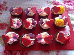 Some Mother's Day cupcakes :D Mothers Day Cupcakes, Muffins, Breakfast, Desserts, Food, Tailgate Desserts, Muffin, Meal, Deserts