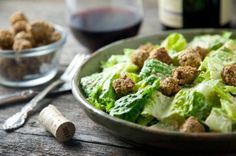 Oh She Glows' Chakra Caesar Salad with Nutty Herb Croutons by Pickles