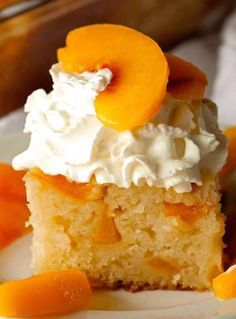 INGREDIENTS: 1 cup sugar plus 3 teaspoons, divided 2 1/2 cups sliced peaches fresh or frozen 1/2 teaspoon corn starch 2 cups flour 1/2 teaspoon salt 2 1/2 teaspoons baking powder 1 1/2 cups milk 3 tablespoons unsalted butter, melted Fresh whipped cream for serving DIRECTIONS: Spray an 8-x-8-inch baking dish with nonstick spray. Preheat oven to 350 degrees F. In a small bowl, combine 3 tablespoons sugar and corn starch. Toss peaches in the mixture and coat evenly. Set aside. In a medium bowl…