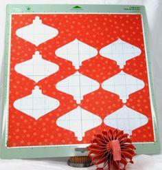 Paper and Fiber Arts: Cricut Art Philosophy 3-D Honeycomb Ornament