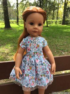 Первая прогулка рыжей Ханночки Gotz / Куклы Gotz - коллекционные и игровые Готц / Бэйбики. Куклы фото. Одежда для кукол