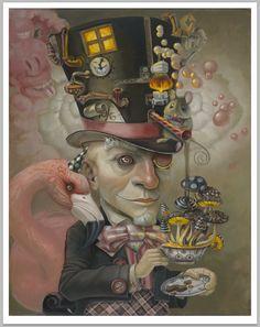 Mad Hatter                 Artist:  Leslie Ditto