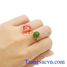 Nhẫn Nữ Vàng Jadeite - Nhẫn Nữ Đá Quý - TRANG SỨC VÀNG - Công Ty Trang Sức Em Và Tôi -Trangsucvn.com Vietnam Costume, Jewelry, Jewlery, Jewerly, Schmuck, Jewels, Jewelery, Fine Jewelry, Jewel