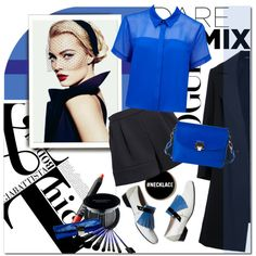"""""""Black and Blue"""" by anna-anica on Polyvore"""