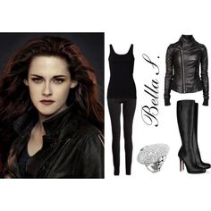Bella Swan by alice-greene on Polyvore featuring Rick Owens, Maison Margiela, John Hardy and Christian Louboutin