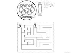 olympijské hry - bludiště