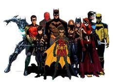 Pictures and pictures of Bat Family # Fanfiction # amreading # books # wattpad Im Batman, Batman Robin, Nightwing, Batgirl, Gotham, Harley Quinn, Nananana Batman, Batman Artwork, Batman Universe