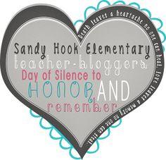 Fern Smith's Classroom Ideas!  Silence for Sandy Hook Elementary School