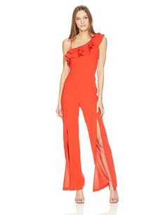 GUESS Womens Sleeveless Ibiza Embroidered Jumpsuit