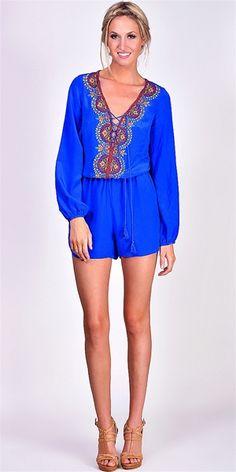 Renzo & Kai - Cobalt Blue Jumper - Cobalt Blue #iWant #SummerStyle #fashion