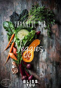 Thankful for winter veggies