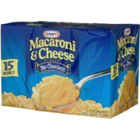 Kraft Macaroni and Cheese, 7.25-Ounce Boxes (Pack of 15)