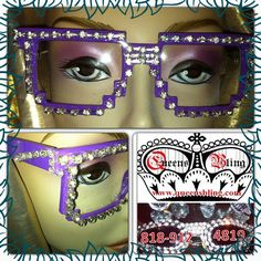 """@QUEEN BLING's photo: """"CLEAR PURPLE COMPUTER LOVE  SUNNIES ONLY $50, with free shipping. Ching2Bling: at www.queensbling.com #eyeglasses #women #rhinestones #travel #famous #bling #sunglasses #sunnies #crystals #California #DetroitBallroom #whiteparty #detroitprincess #kidsfashions #designersunglasses #Motown #swag #Detroit #queensbling #fashion #boutique #shades #eyewear #rhinestonesunglasses #blingsunglasses #designereyewear #diamonds #girls #style #shades #celebrities"""""""