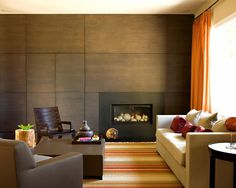 contemporary fireplace design pictures remodel decor and ideas page 13 - Modern Wall Paneling Designs