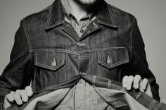 10 Best Denim Jackets For Men (& How To Rock It) - #AcneStudios, #DenimJackets, #Gucci, #Lanvin, #Levis, #MrSimple, #Orslow, #OurLegacy, #SaintLaurent