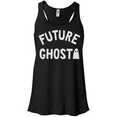 Future Ghost Tank Top, Halloween Tank, Dead Inside Tee, Grunge Outfit,... ($18) ❤ liked on Polyvore featuring tops, tank tops, going out tops, shirt tops, night out tops, party tanks and party tops